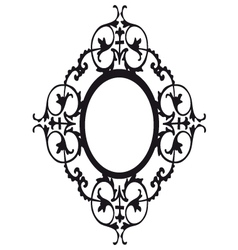 Vicotrian frame vector image vector image