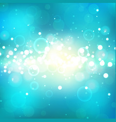 shining background with light effects vector image