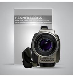 banner design vector image