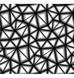 Triangular Geometric Mosaics Seamless Background vector image