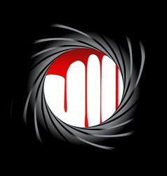 barrel blood vector image