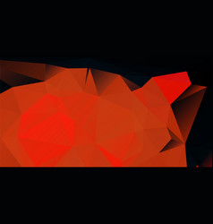 Dark red low polygonal background vector