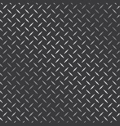 Diamond plate metal texture background design vector
