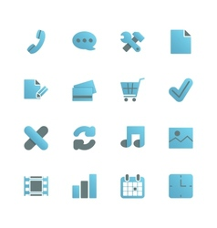 Ecommerce iconset for web design vector