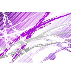 magenta industrial background with chain vector image