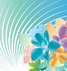 Orchids wallpaper vector