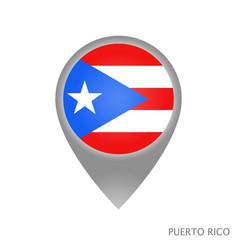puerto rico vector image
