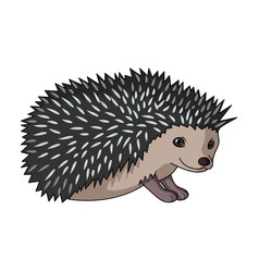 hedgehoganimals single icon in cartoon style vector image