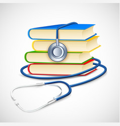 Medical Book vector image vector image