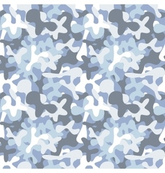 Military camouflage seamless pattern to disguise vector image