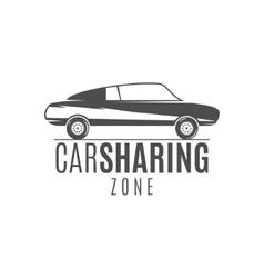 Car share logo design Car Sharing concept vector