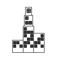 city buildings icon vector image