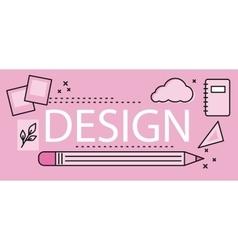 Design Graphic Work Space vector