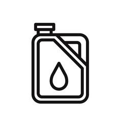 diesel icon vector image