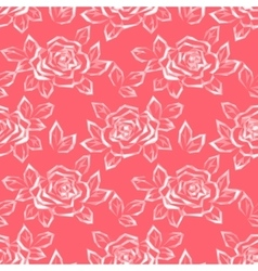Flower rose low poly pattern vector