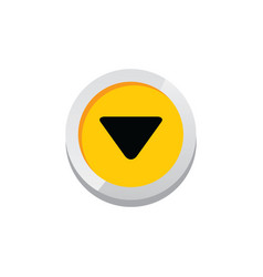 game asset icon sign symbol button vector image