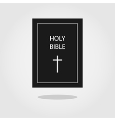 Holy Bible icon vector