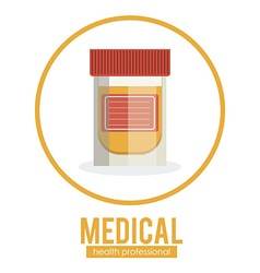 Medical icon design vector image