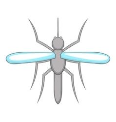 Mosquito icon cartoon style vector