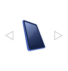 Notebook in mobile phone vector