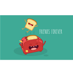 toasters vector image