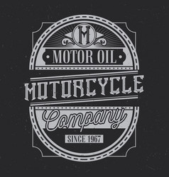 vintage label design vector image