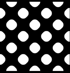 seamless pattern with dotted texture vector image
