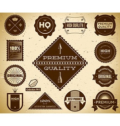 Vintage labels Collection 5 vector image
