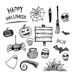 halloween icon cartoon vector image
