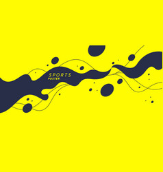 Abstract background with splashes modern vector