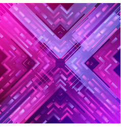 Abstract futuristic digital technology background vector