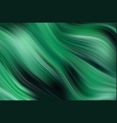 green wave background oil painting texture vector image