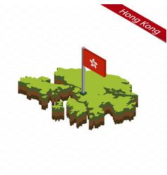 Hong kong isometric map and flag vector