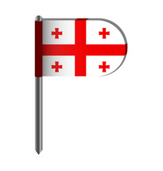 isolated flag of england vector image