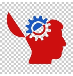 Open Mind Gear Icon vector