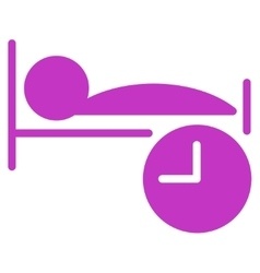 Sleep Time Icon vector image