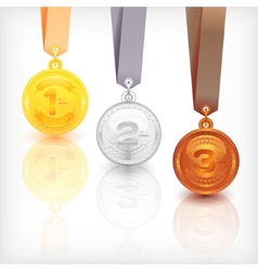 Sports Medal Awards vector