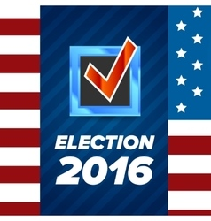 USA Election badge vector image