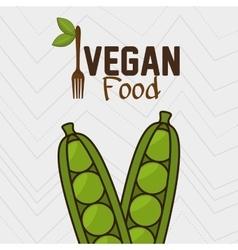 Vegan cooking pot nutrition food vector