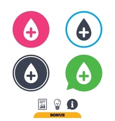 Water drop sign icon softens water symbol vector
