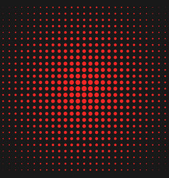 abstract geometric halftone circle pattern vector image