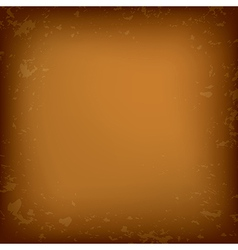 old brown grungy background vector image