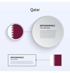 Qatar country set of banners vector