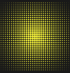 retro halftone circle pattern background from dots vector image vector image