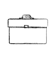 Business briefcase accesorie vector