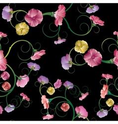 Design floral element Seamless vector image