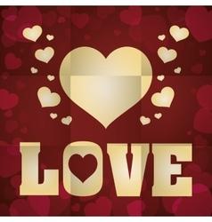 Love icon design vector