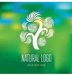 Natiral Logo 07 vector image