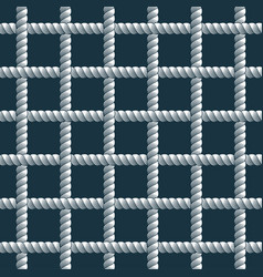 rope seamless pattern trendy wallpaper background vector image