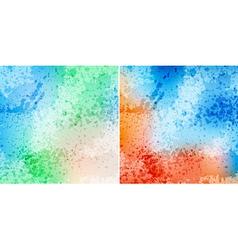 Splash backgrounds vector